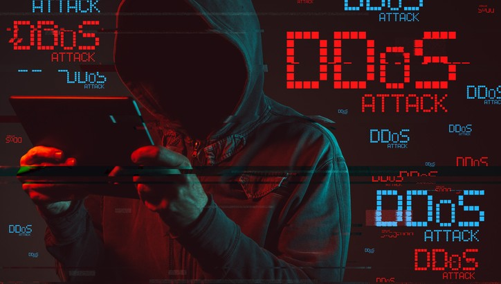 Distributed denial of service or DDoS attack